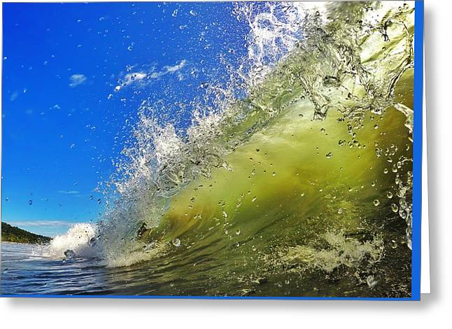 Beach Photography Greeting Cards - Surf Greeting Card by Nicklas Gustafsson