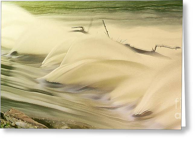 Dander Greeting Cards - Surf Greeting Card by Odon Czintos