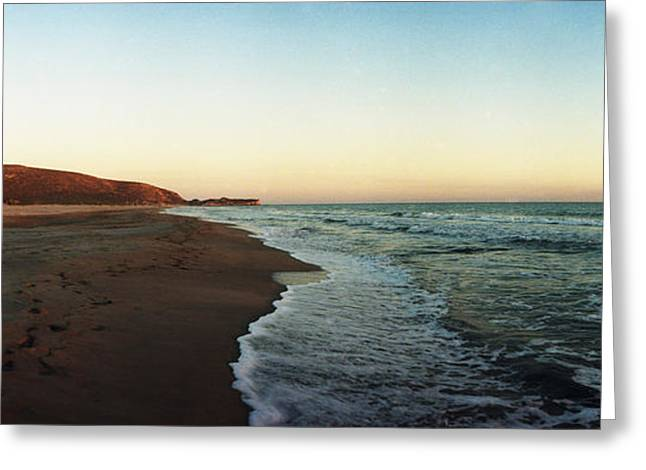 Beach Photography Greeting Cards - Surf On The Beach, Patara Beach Greeting Card by Panoramic Images