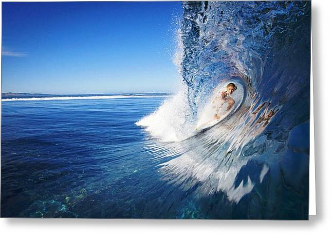 Surfer Girl Greeting Cards - Surfer Girl Greeting Card by Movie Poster Prints