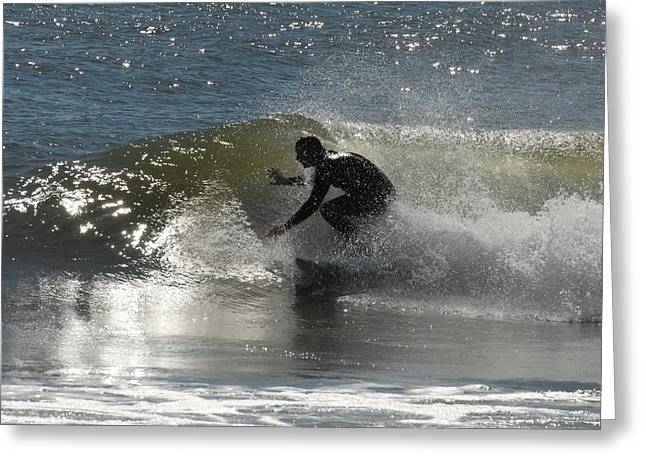 Surfing Photos Greeting Cards - Surfing 427 Greeting Card by Joyce StJames