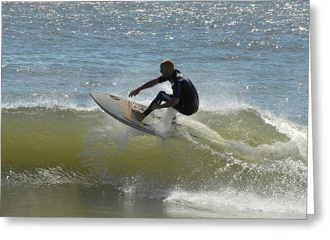 Take Over Greeting Cards - Surfing 428 Greeting Card by Joyce StJames