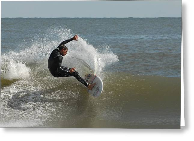 Take Over Greeting Cards - Surfing 432 Greeting Card by Joyce StJames