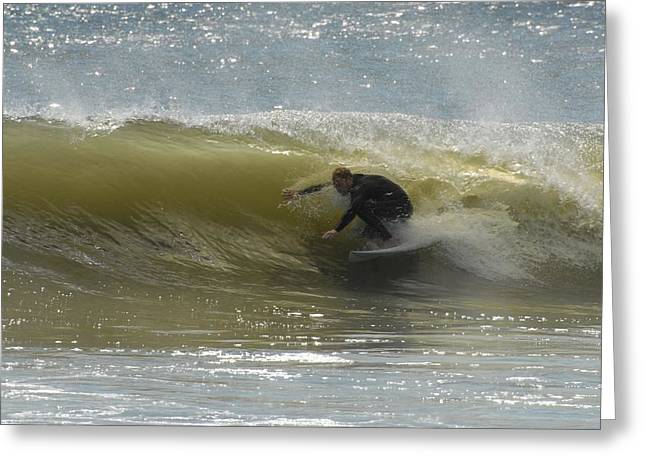 Take Over Greeting Cards - Surfing 437 Greeting Card by Joyce StJames