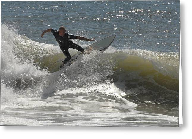 Take Over Greeting Cards - Surfing 446 Greeting Card by Joyce StJames