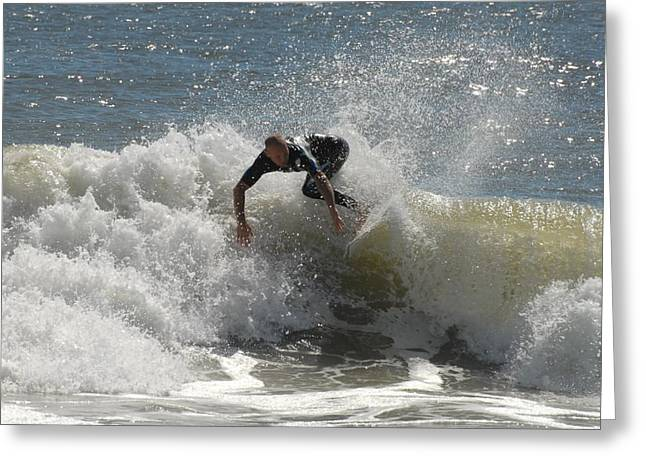 Take Over Greeting Cards - Surfing 450 Greeting Card by Joyce StJames