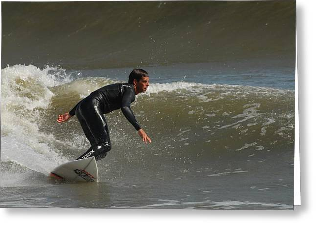 Take Over Greeting Cards - Surfing 460 Greeting Card by Joyce StJames