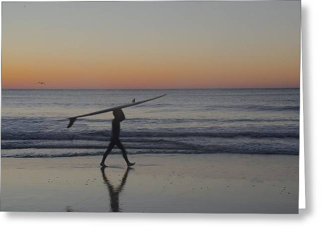 Surf City Greeting Cards - Surfing USA Greeting Card by Bill Cannon