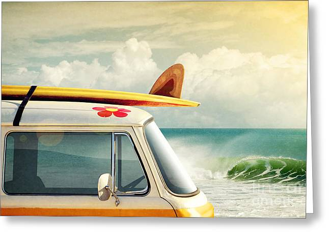 Revival Greeting Cards - Surfing Way of Life Greeting Card by Carlos Caetano