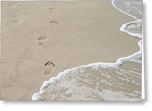 Matanzas Greeting Cards - Surfs Edge On The Beach, Varadero Greeting Card by Panoramic Images