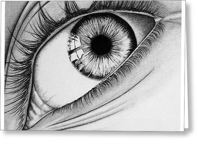 Hyperrealism Drawings Greeting Cards - Surprise Greeting Card by Barbara Bright