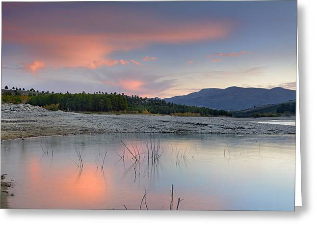 Spain Greeting Cards - Surprise sunset Greeting Card by Guido Montanes Castillo