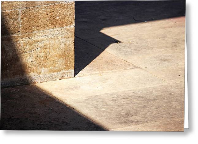 Element Of Light Greeting Cards - Surreal Lines Greeting Card by Prakash Ghai