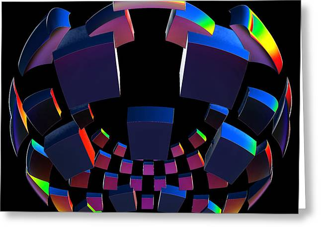 First Star Art By Jammer Greeting Cards - Surround Sound by jammer Greeting Card by First Star Art