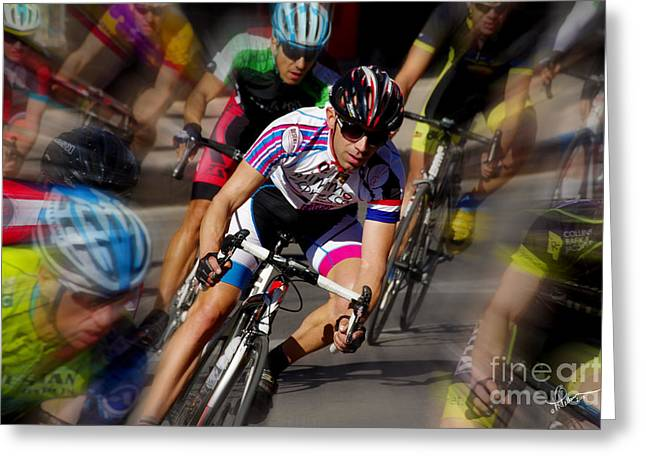 Tour Of The Gila Greeting Cards - Surrounded Greeting Card by Vicki Pelham