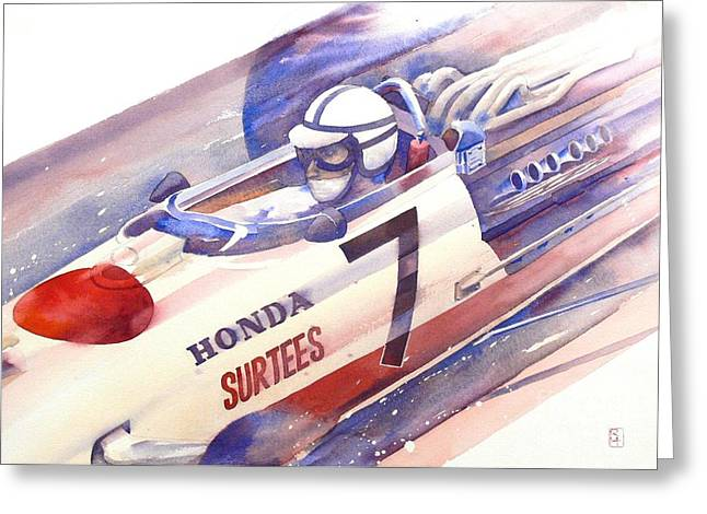 Surtees Greeting Card by Robert Hooper