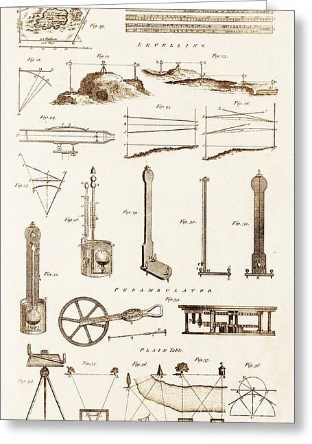 Surveying Greeting Cards - Surveying Instruments And Techniques. Greeting Card by David Parker