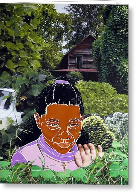 Surviving Kudzu Greeting Card by Martha Rucker