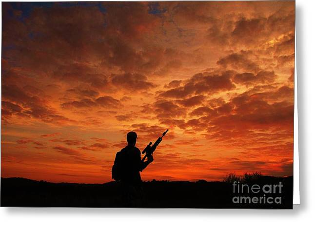 Shane Brumfield Greeting Cards - Surviving the Apocalypse Greeting Card by Shane Brumfield