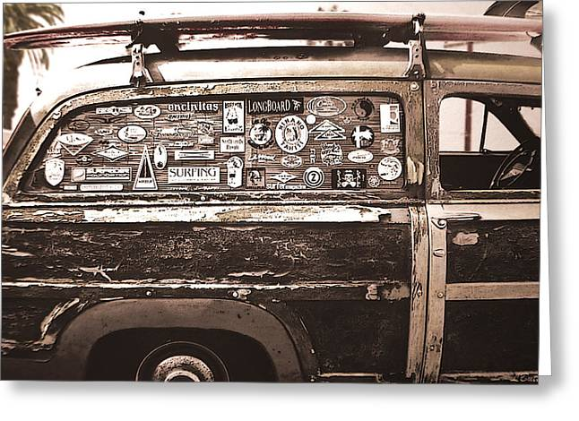 Station Wagon Greeting Cards - Survivor Greeting Card by Larry Butterworth