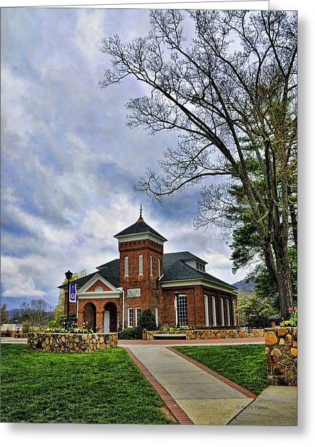 Francis Greeting Cards - Susan B. Anthony Chapel Greeting Card by Kenny Francis