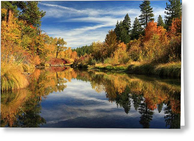 Susan River 10-28-12 Greeting Card by James Eddy