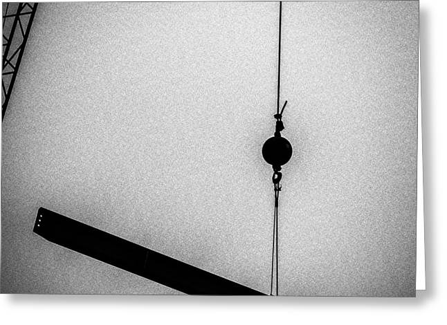 Industrial Greeting Cards - Suspended Greeting Card by Bob Orsillo