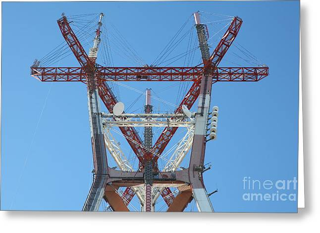 Old Tv Greeting Cards - Sutro Tower San Francisco California 5D28086 Greeting Card by Wingsdomain Art and Photography