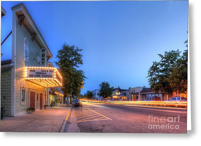 Sutton's Bay Evening Greeting Card by Twenty Two North Photography