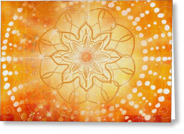 Svadishthana - Chakra 2 Greeting Card by Christine Louise Bryant