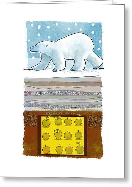 Svalbard Greeting Cards - Svalbard Global Seed Vault, artwork Greeting Card by Science Photo Library