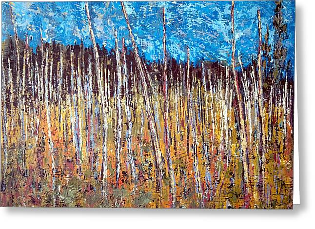 Charlotte Digital Art Greeting Cards - Swamp - Chamcook NB Greeting Card by Michael Graham
