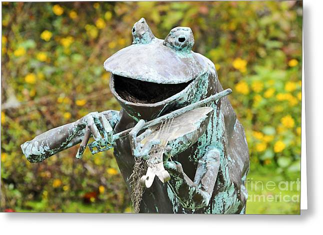 Playing Digital Greeting Cards - Swampland Critter Band 4 Greeting Card by Al Powell Photography USA