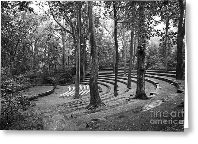 Quaker Town Greeting Cards - Swarthmore College Scott Amphitheater Greeting Card by University Icons