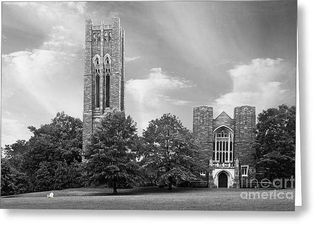 Quaker Town Greeting Cards - Swarthmore College Clothier Hall Greeting Card by University Icons