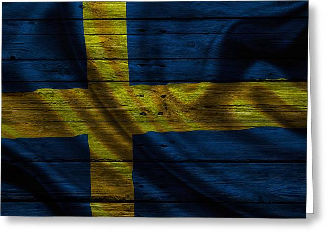 Sweden Greeting Cards - Sweden Greeting Card by Joe Hamilton