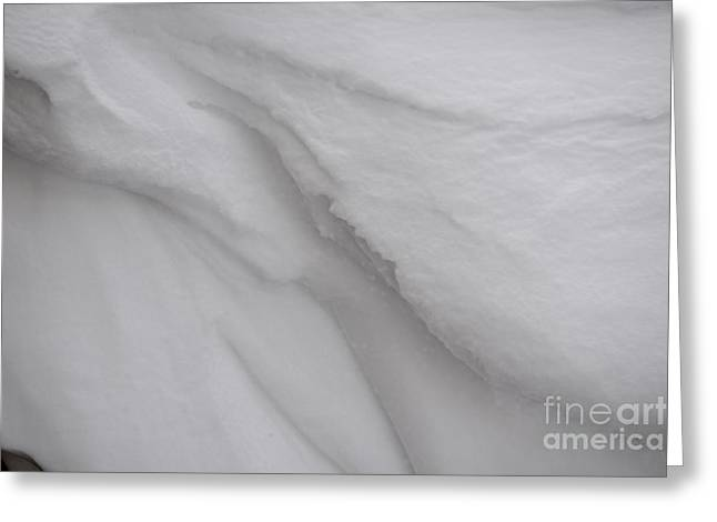 Overhanging Snow Greeting Cards - Sweep Greeting Card by Joseph Yarbrough