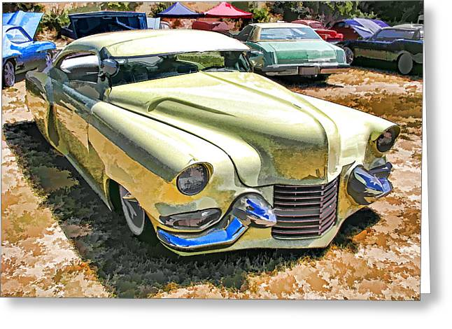 Sweet And Low-rider 3/4 Front View Greeting Card by Samuel Sheats