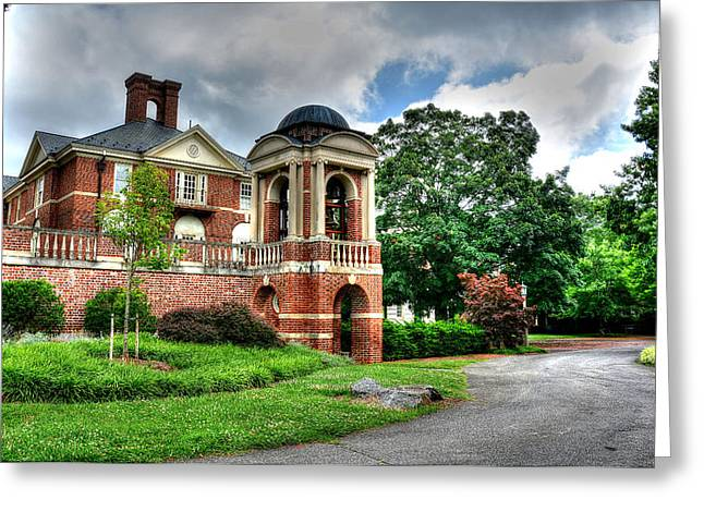 Brick Schools Photographs Greeting Cards - Sweet Briar Amherst Virginia Greeting Card by Todd Hostetter