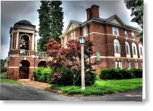 Brick Schools Photographs Greeting Cards - Sweet Briar College VA Greeting Card by Todd Hostetter