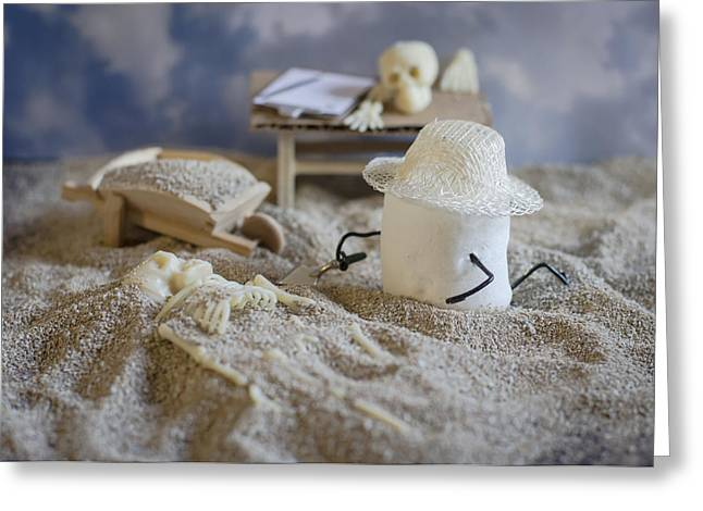 Osteology Greeting Cards - Sweet Discovery Greeting Card by Heather Applegate
