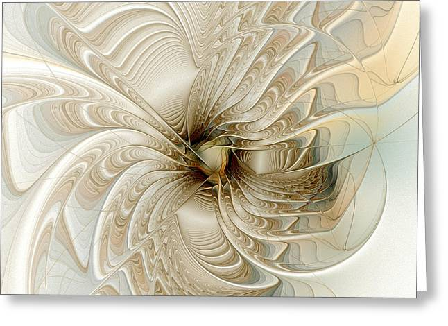 Floral Digital Art Digital Art Greeting Cards - Sweet Dream Greeting Card by Amanda Moore