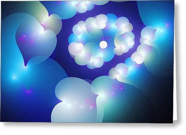 Curious Mixed Media Greeting Cards - Sweet Dreams Greeting Card by Anastasiya Malakhova