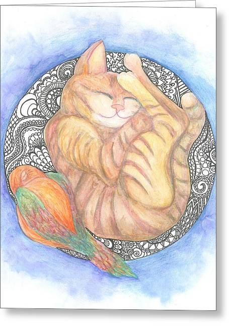 Cherie Sexsmith Greeting Cards - Sweet Dreams Greeting Card by Cherie Sexsmith