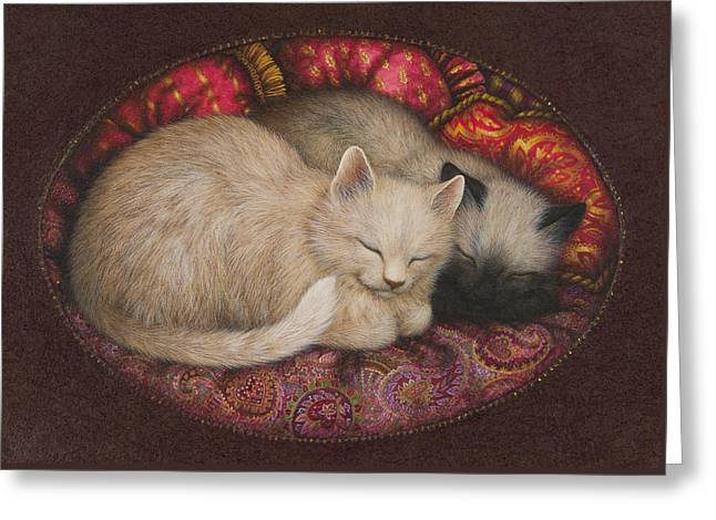 Sweet Dreams Greeting Card by Lynn Bywaters