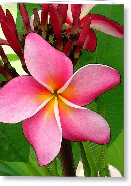 James Temple Greeting Cards - Sweet Fragrance Greeting Card by James Temple