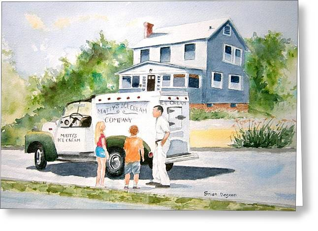 Matty Greeting Cards - Sweet Memories  Greeting Card by Brian Degnon