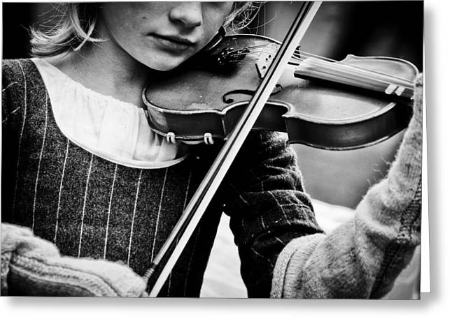 Sweet Music Greeting Card by Off The Beaten Path Photography - Andrew Alexander