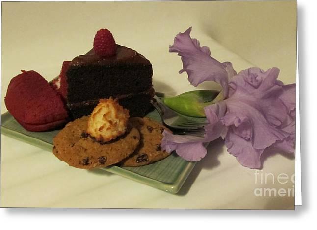 Chocoholic Greeting Cards - Sweet Presentation Greeting Card by Arlene Carmel