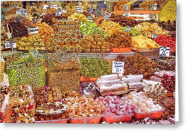 Labelled Greeting Cards - Sweet Splendor Greeting Card by Joan Carroll